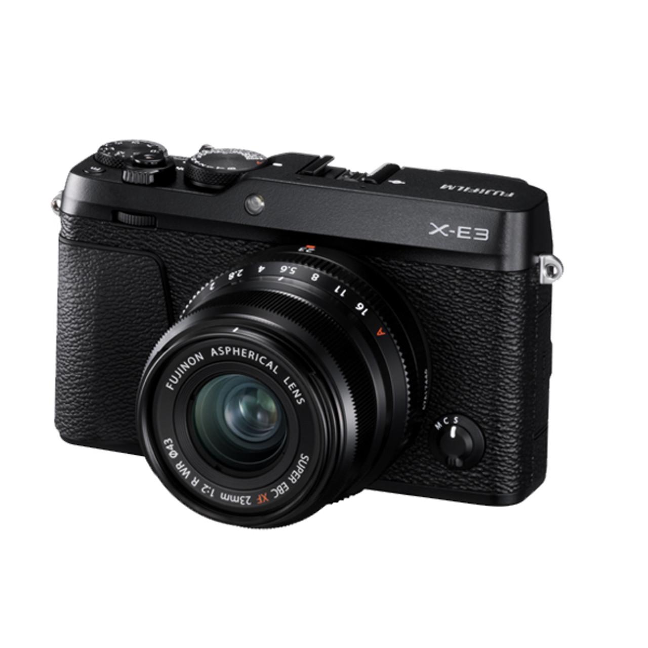 Fujifilm X-E3 23mm F2 Kit Black