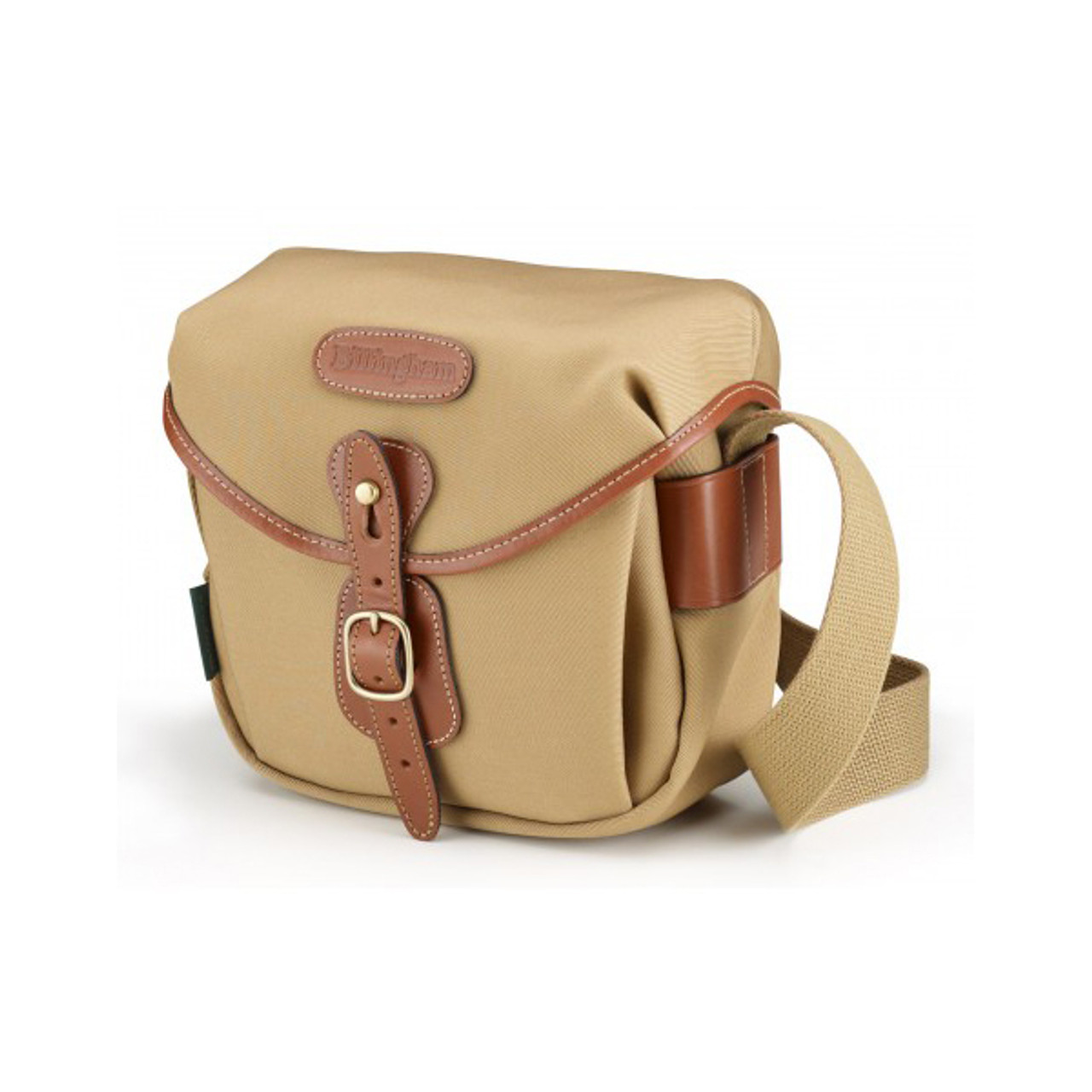 Billingham Hadley Digital Khaki Canvas/Tan FiberNyte
