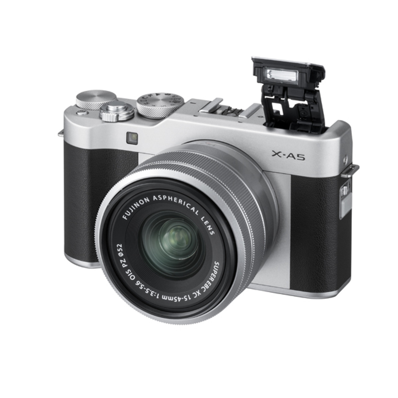 Fujifilm X-A5 XC 15-45mm PZ Kit Silver