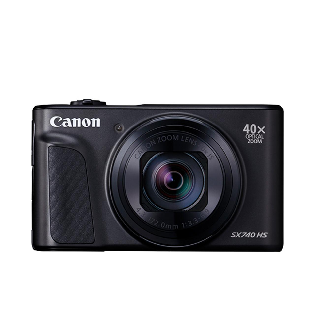 Canon Powershot SX740HS with Case Black