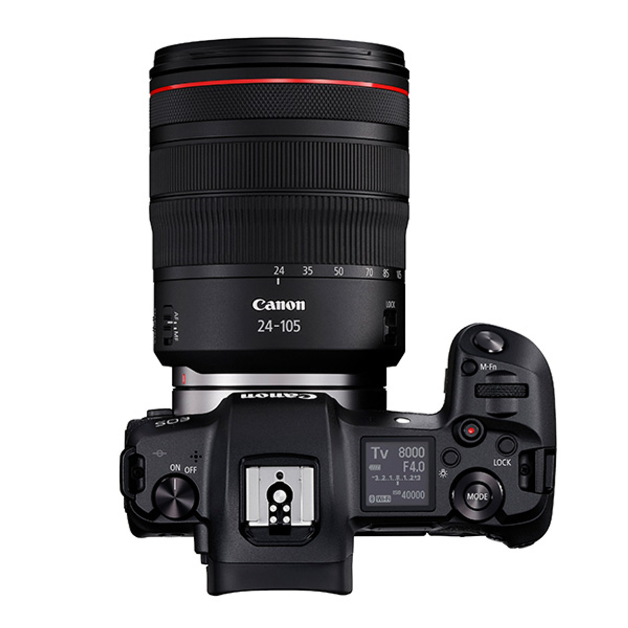Canon EOS R with RF 24-105mm F4L Kit