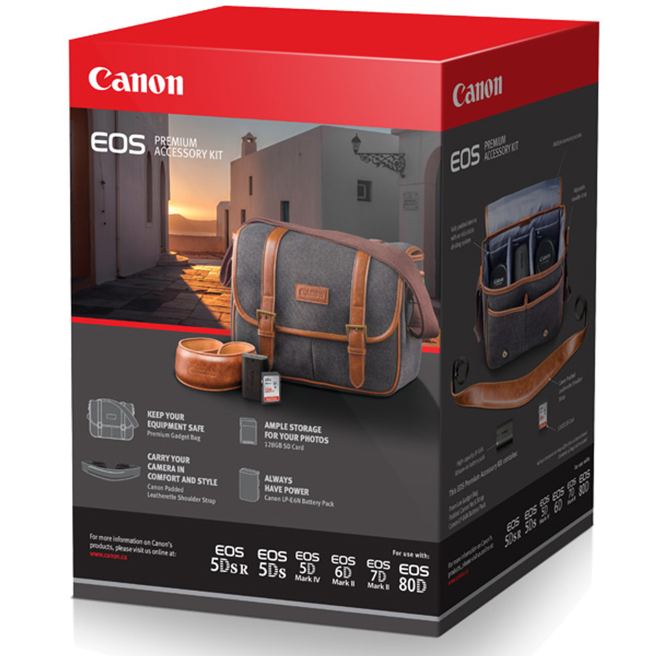 Canon Premium Accessory Kit (with 128GB CARD)