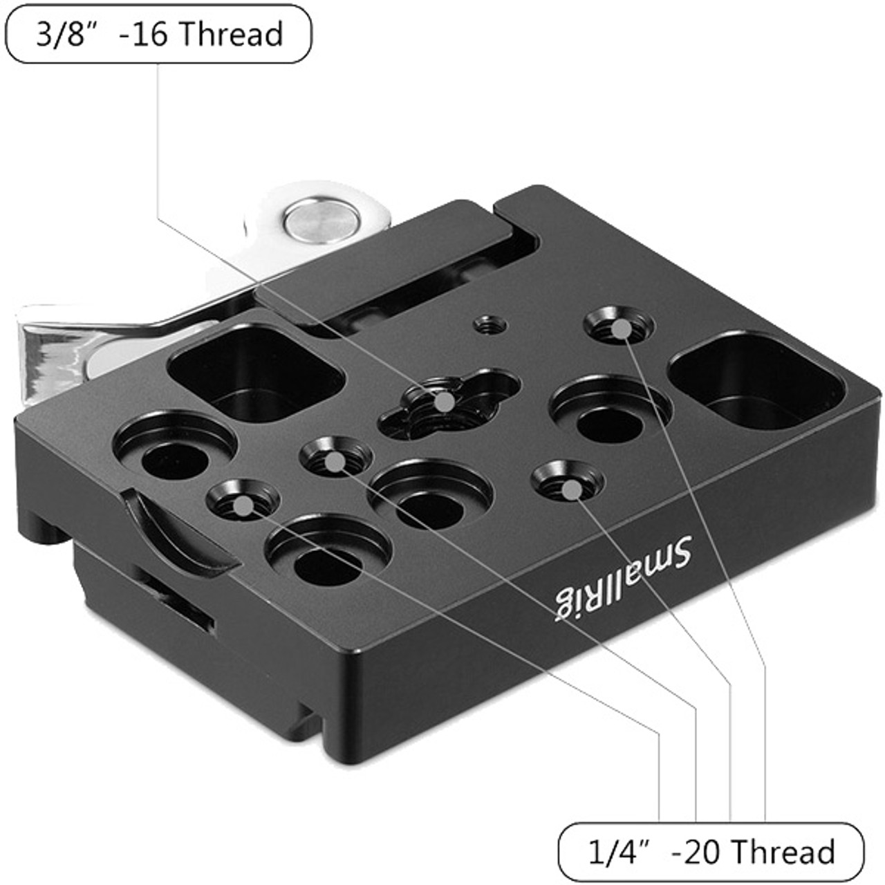 SmallRig Quick Release Clamp and Plate (Arca-Type Compatible) 2144