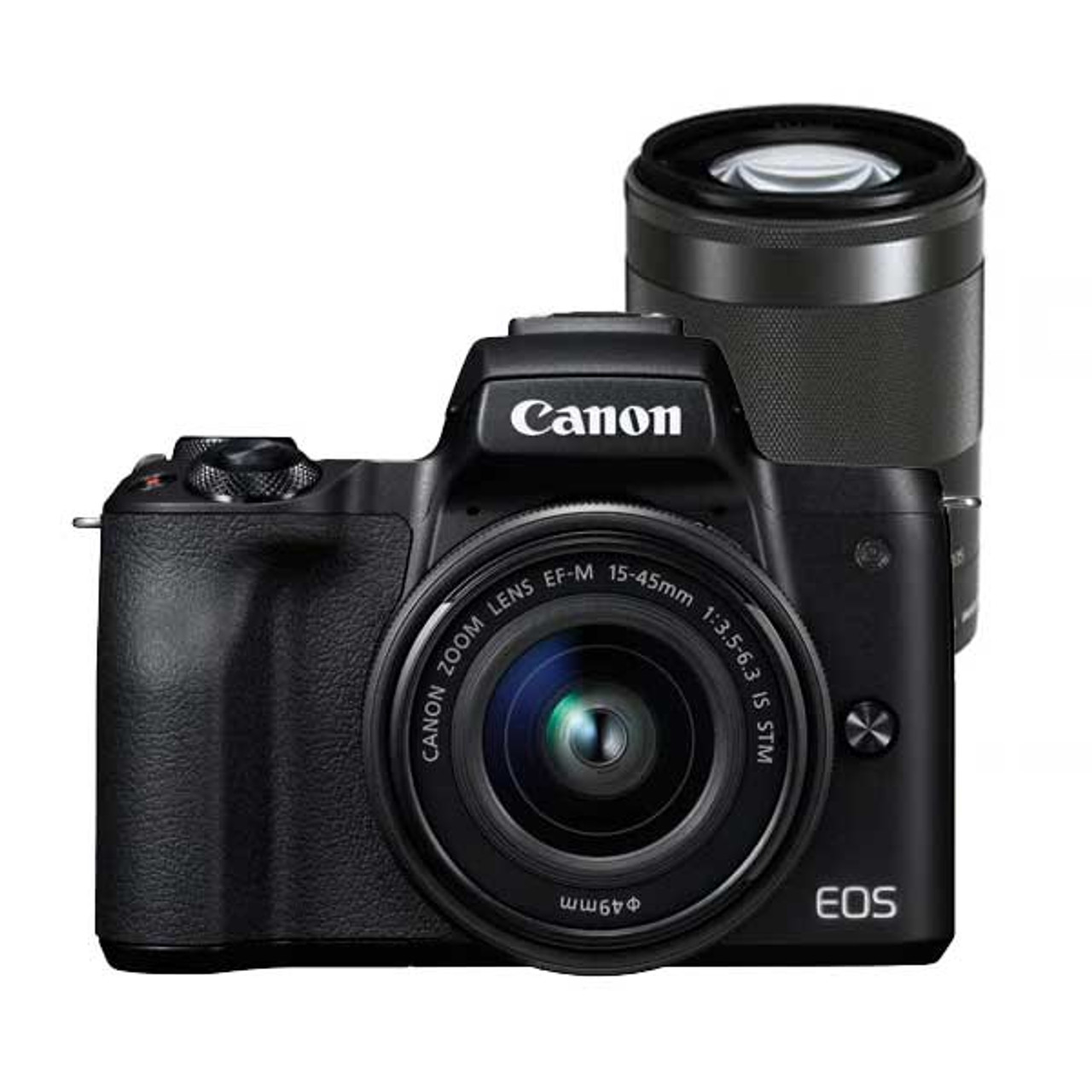 Canon EOS M50 15-45mm Kit Black & Canon EF-M 55-200mm F4.5-6.3 IS STM