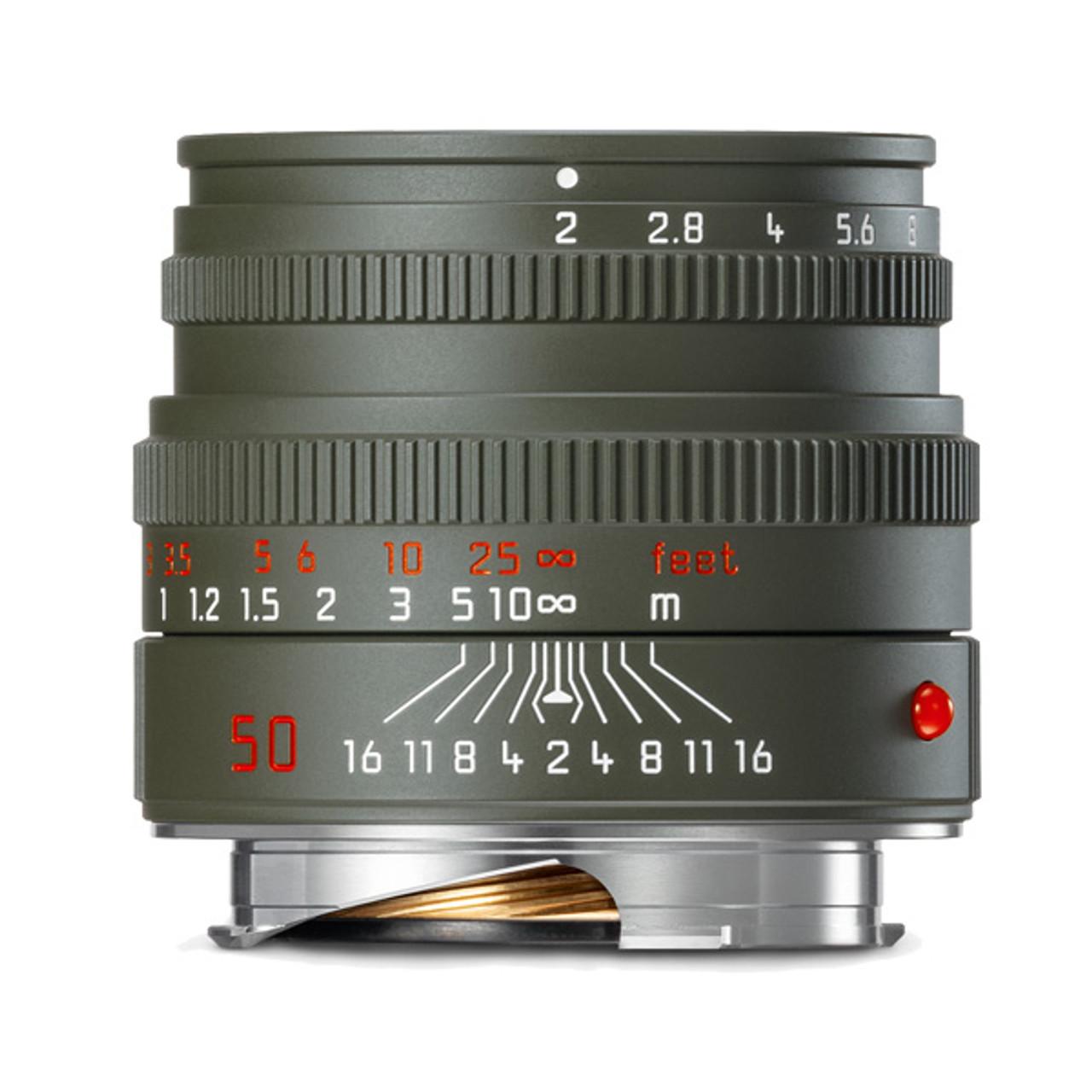 Leica Summicron-M 50 mm f/2 Safari Edition