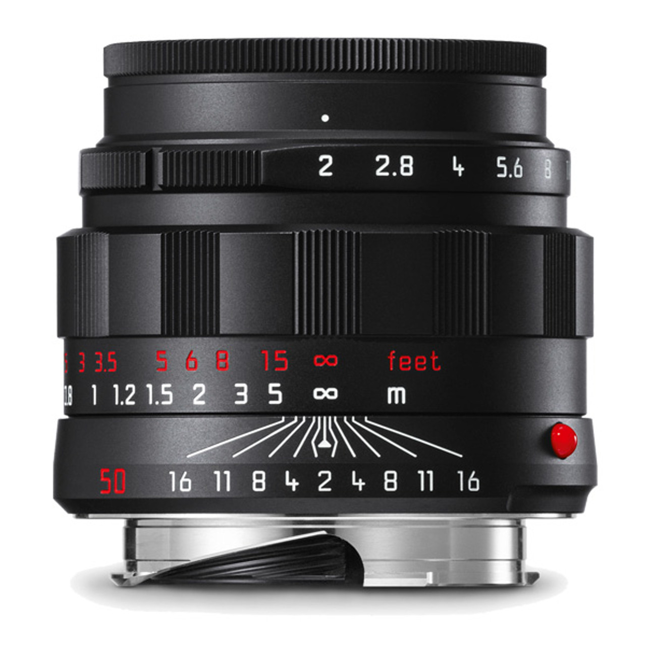 Leica APO-Summicron-M 50 mm f/2 ASPH  (black chrome finish)