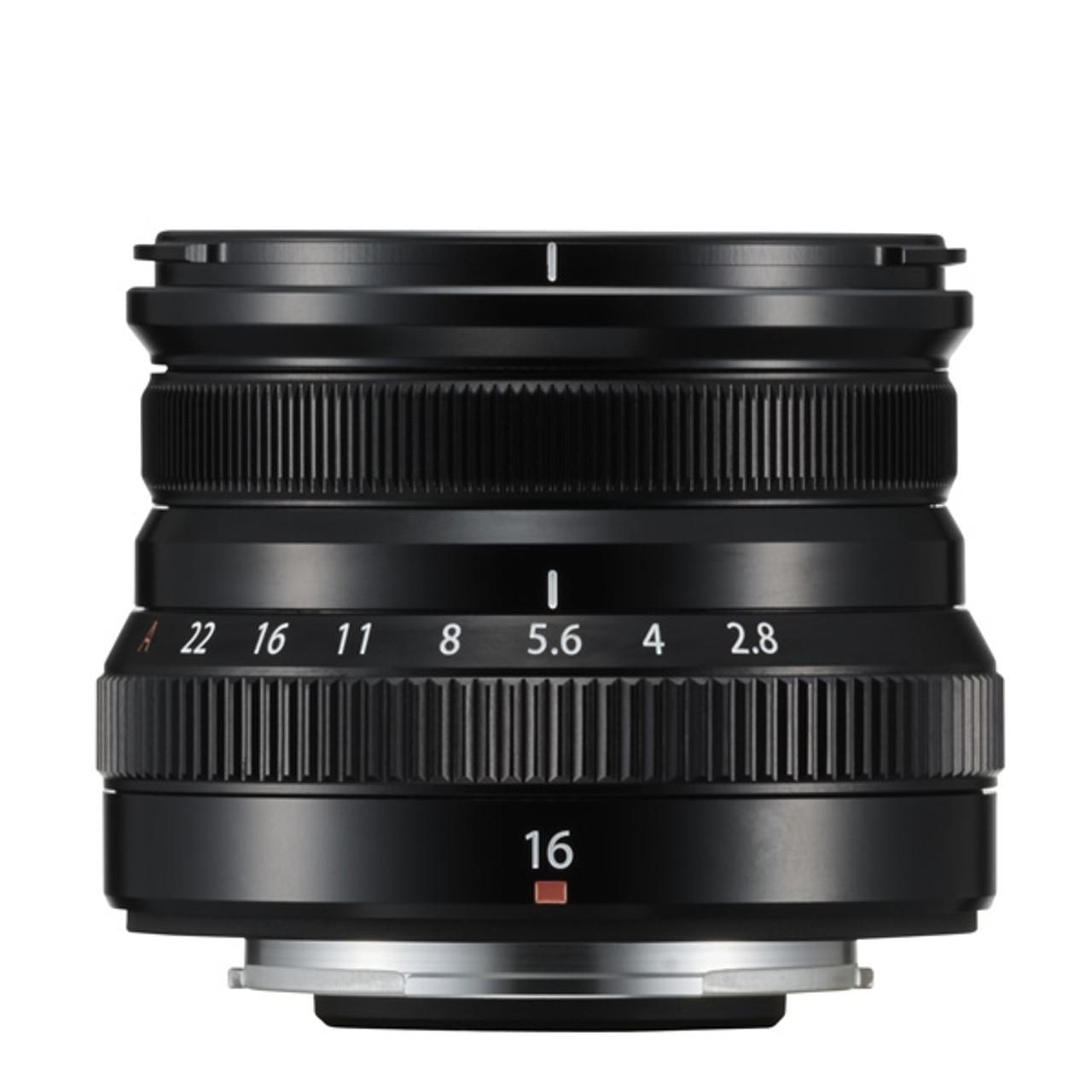 Fujfilm XF 16mm F2.8 R WR Black