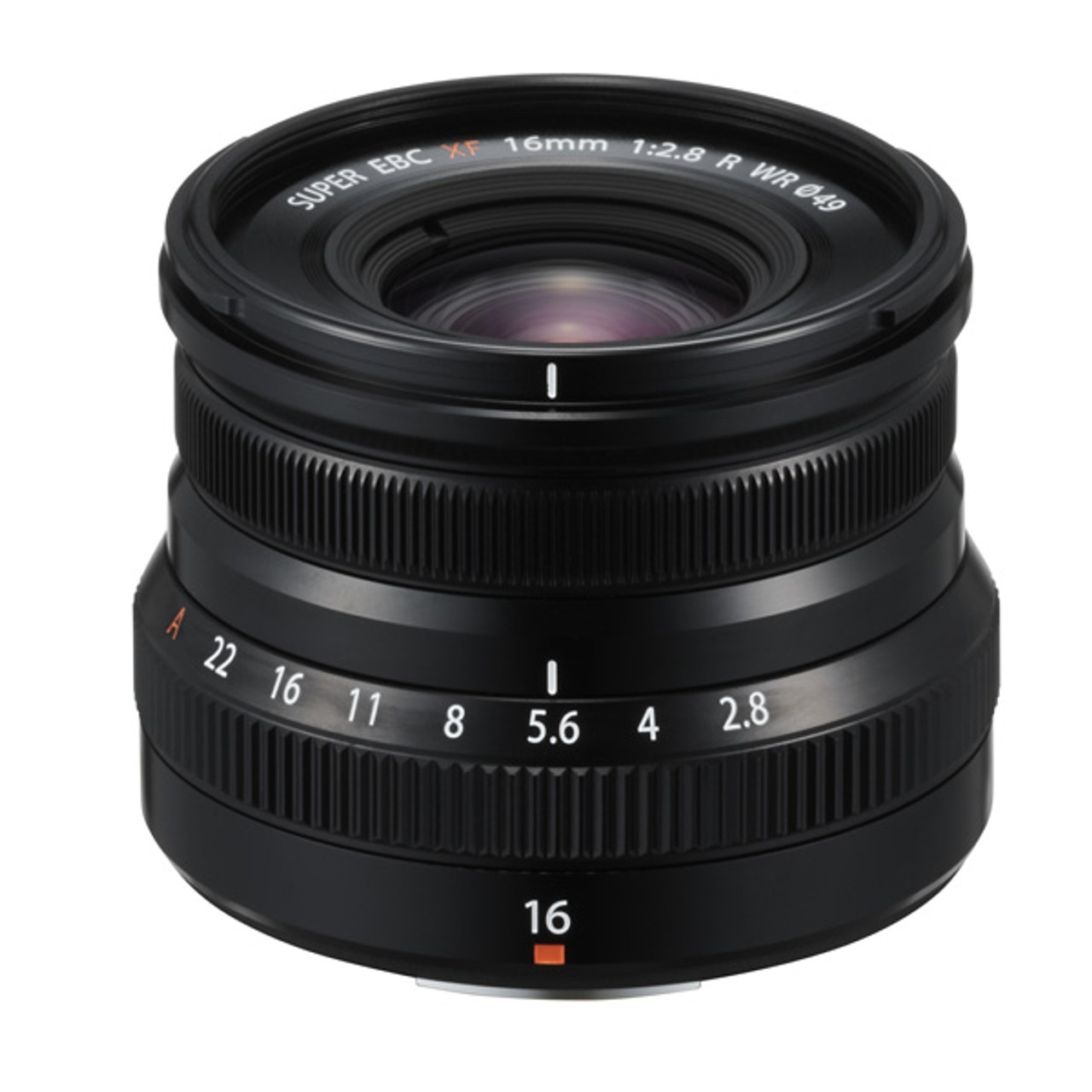 Fujfilm Fujinon XF 16mm F2.8 R WR Black