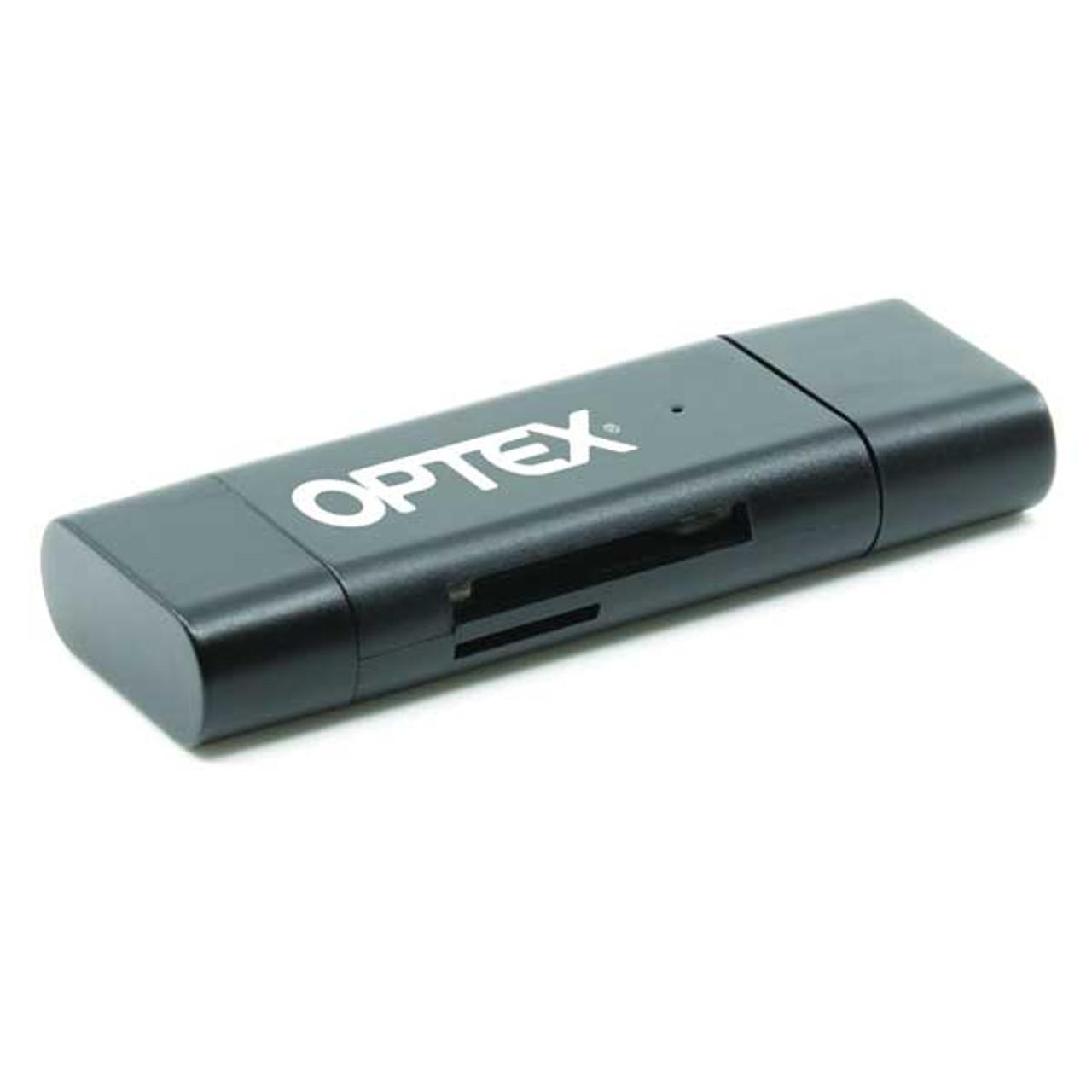 Optex USB-C & USB 3.0 Card Reader SD/MicroSD