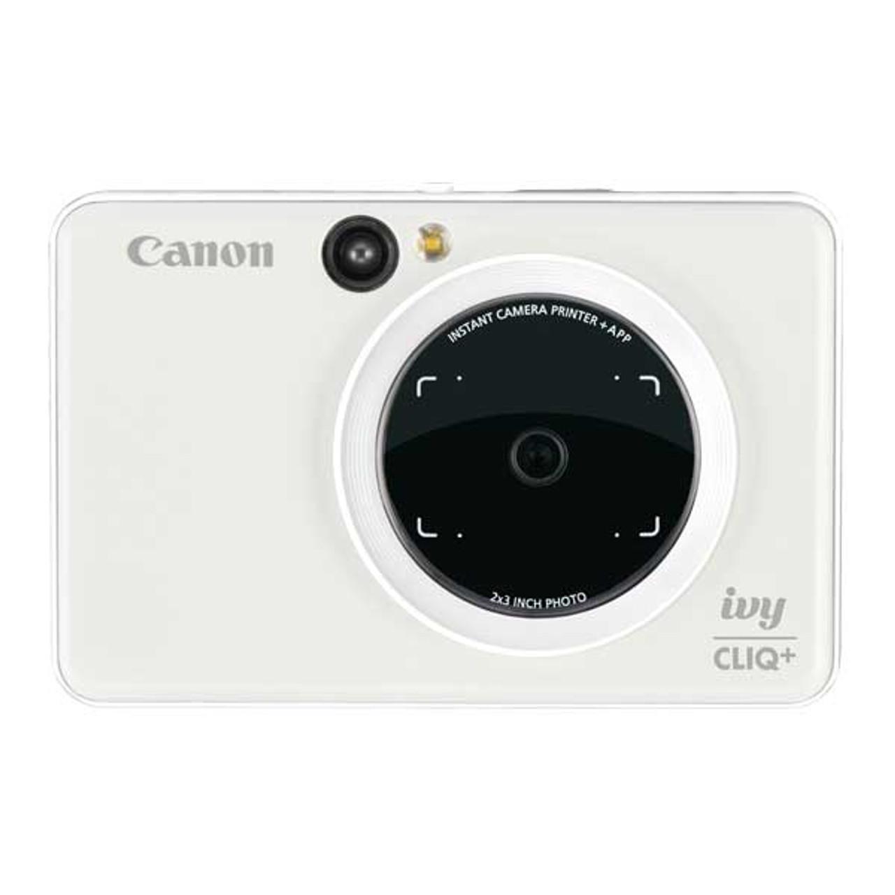 Canon Ivy Cliq+ 2in1 Instant Camera (Pearl White)