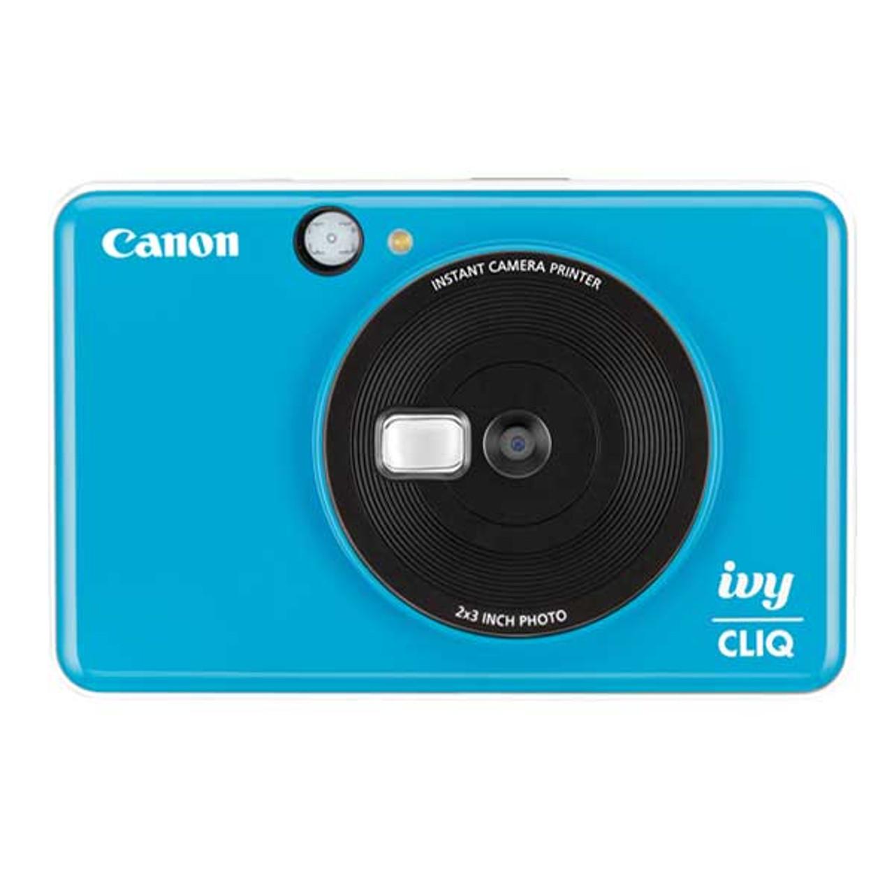 Canon Ivy Cliq Instant Camera (Seaside Blue)