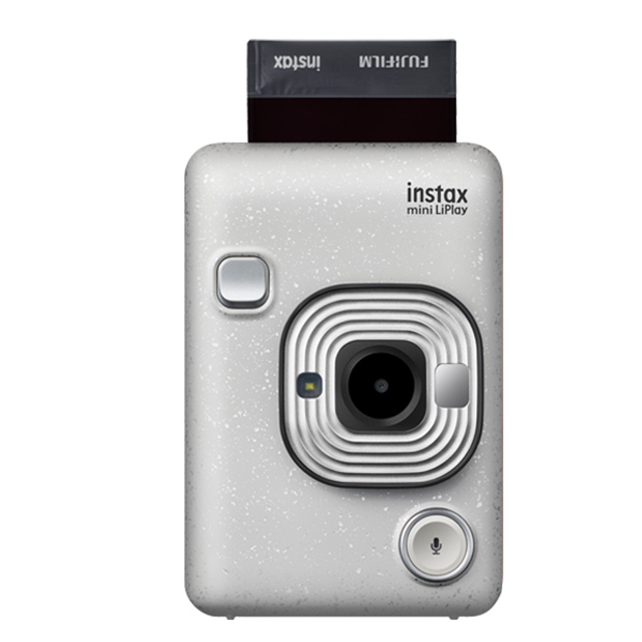 Fujifilm Instax Mini LiPlay Hybrid Camera (Stone White)