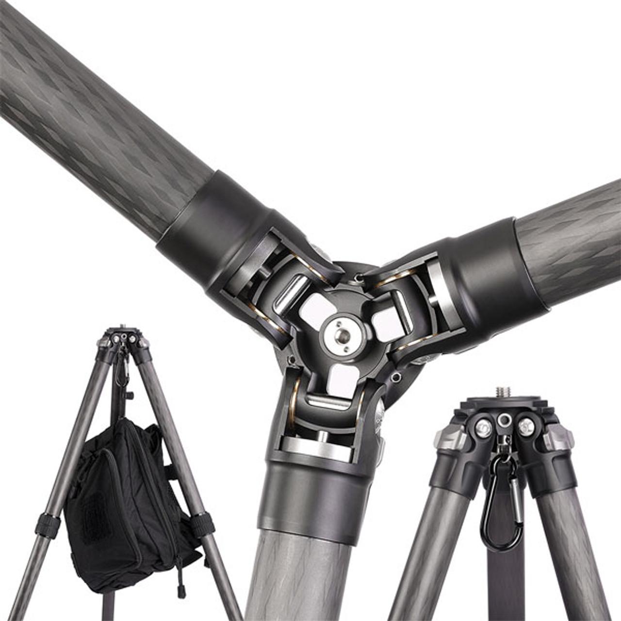 Leofoto LS-365C 36mm 5 Section Compact Carbon Fiber Tripod