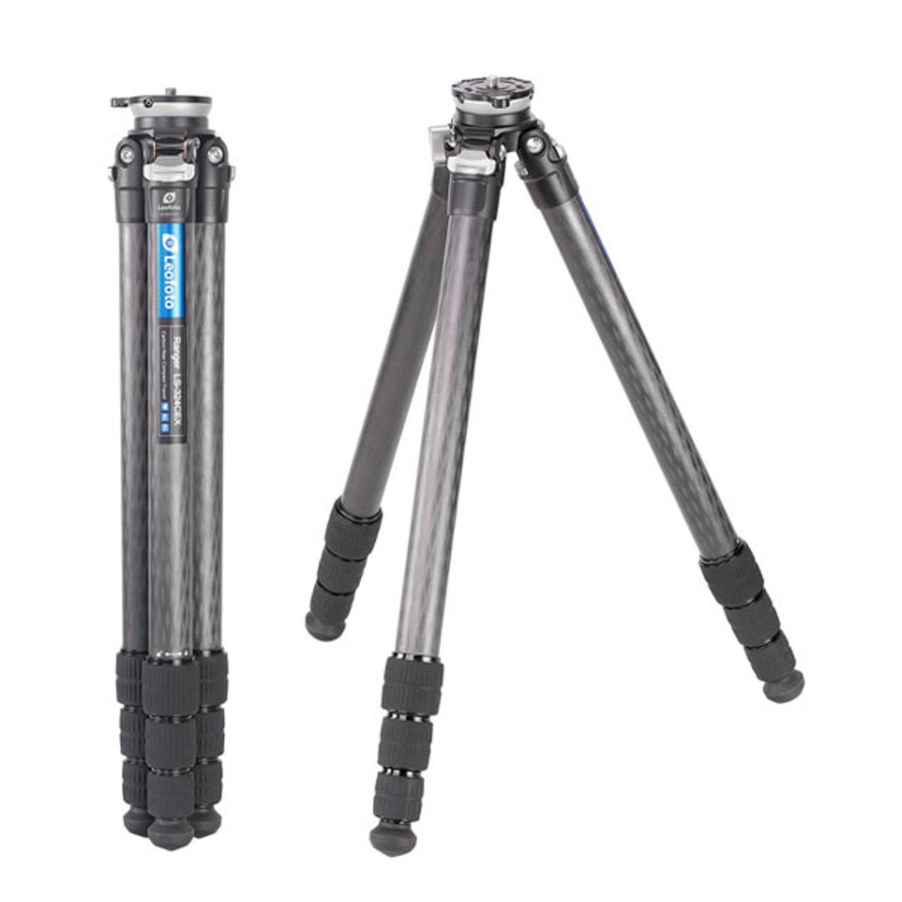 Leofoto LS-324CEX 32mm 4 Section Compact Carbon Fiber Tripod