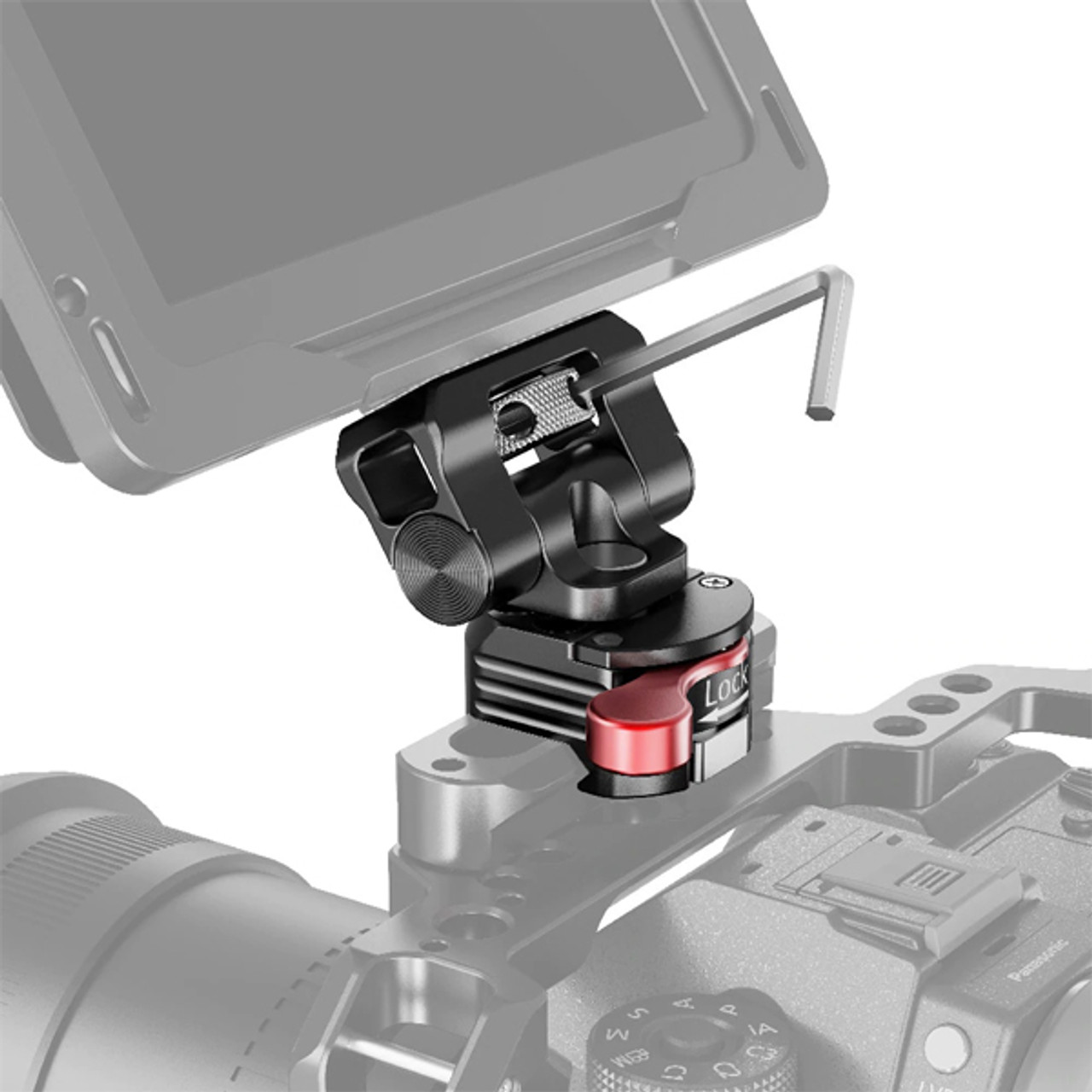 SmallRig Swivel and Tilt Monitor Mount with NATO Clamp (BSE2347)