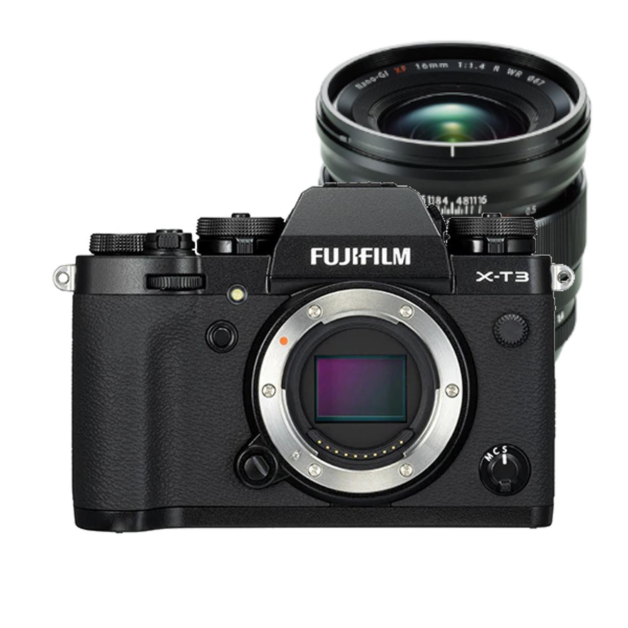 Fujifilm X-T3 Body (Black) w/ XF 16mm f1.4