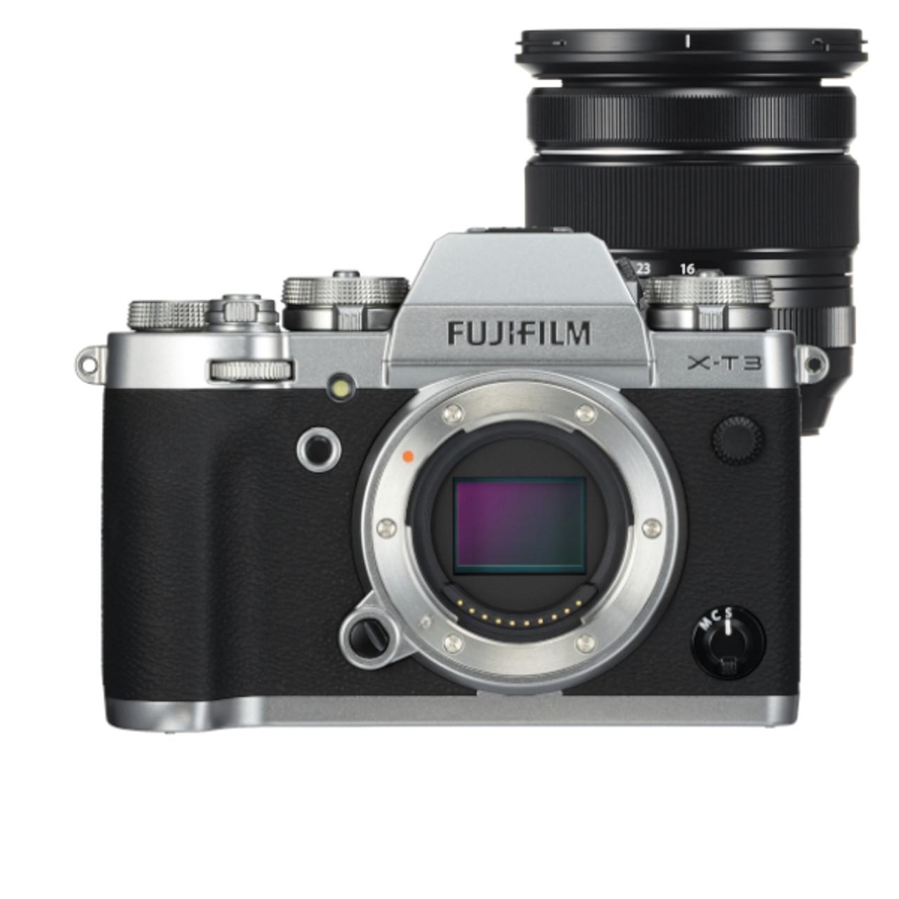 Fujifilm X-T3 Body w/ XF16-80mm F4 R OIS WR Lens Kit (Silver)