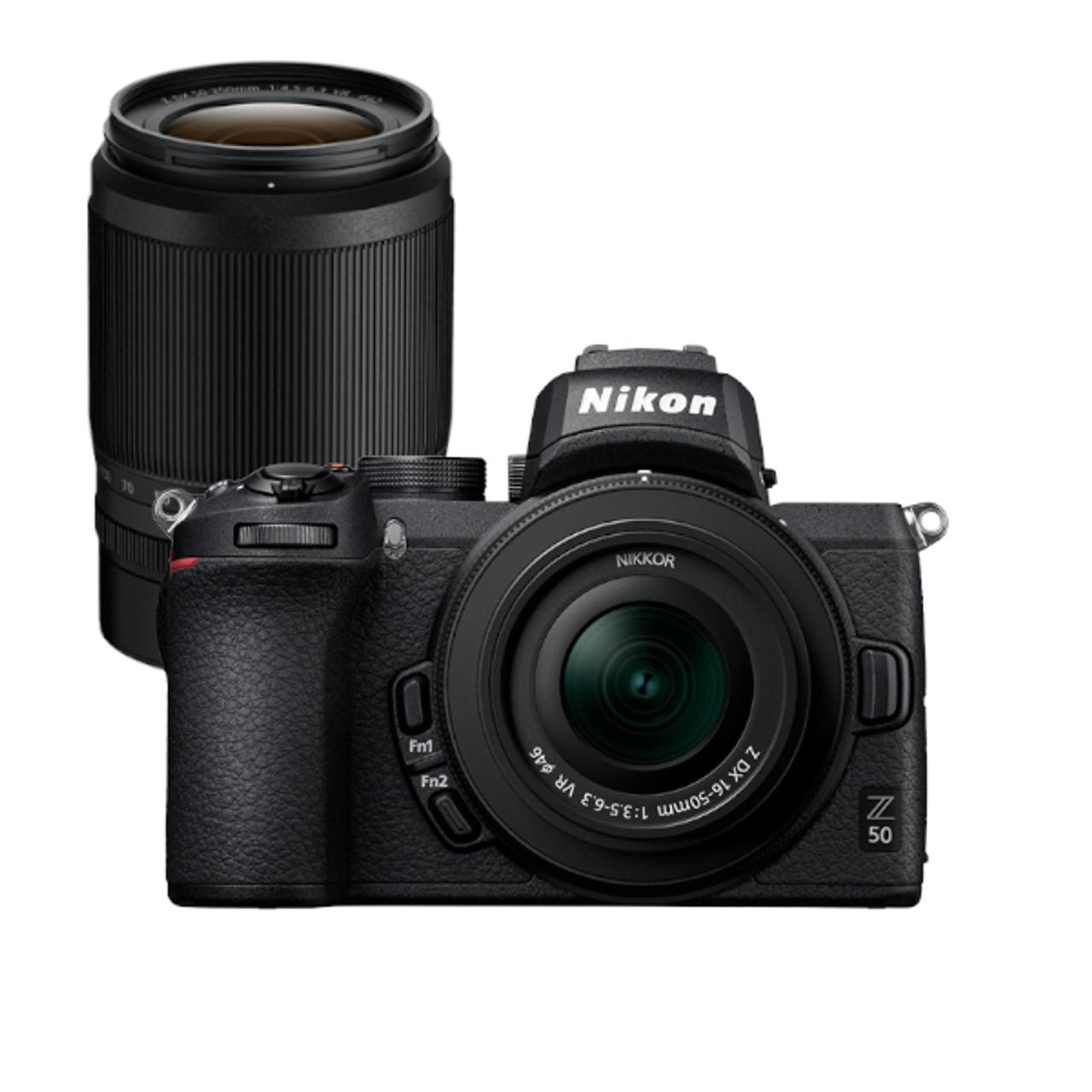 Nikon Z 50 16-50mm Kit & Nikon Z DX 50-250mm f4.5-6.3 VR