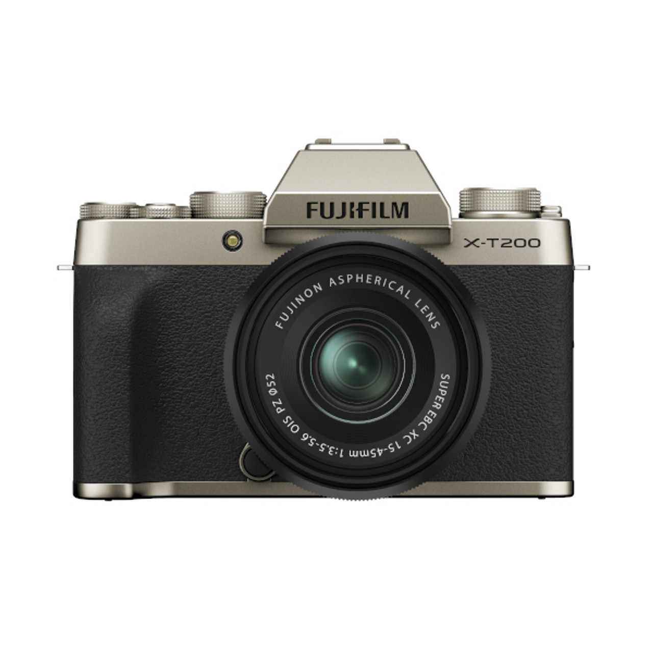 Fujifilm X-T200 XC 15-45mm F3.5-5.6 Kit (Champagne Gold)