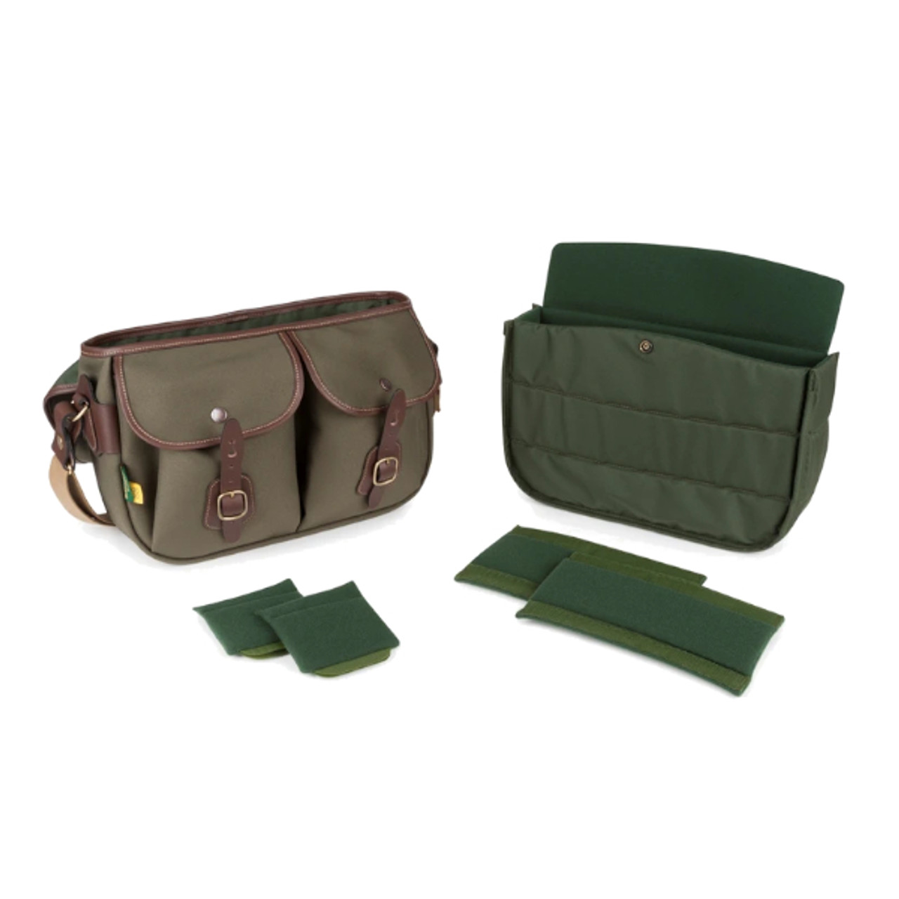 Billingham Hadley Pro 2020 (Sage Fibrenyte/Chocolate Leather)