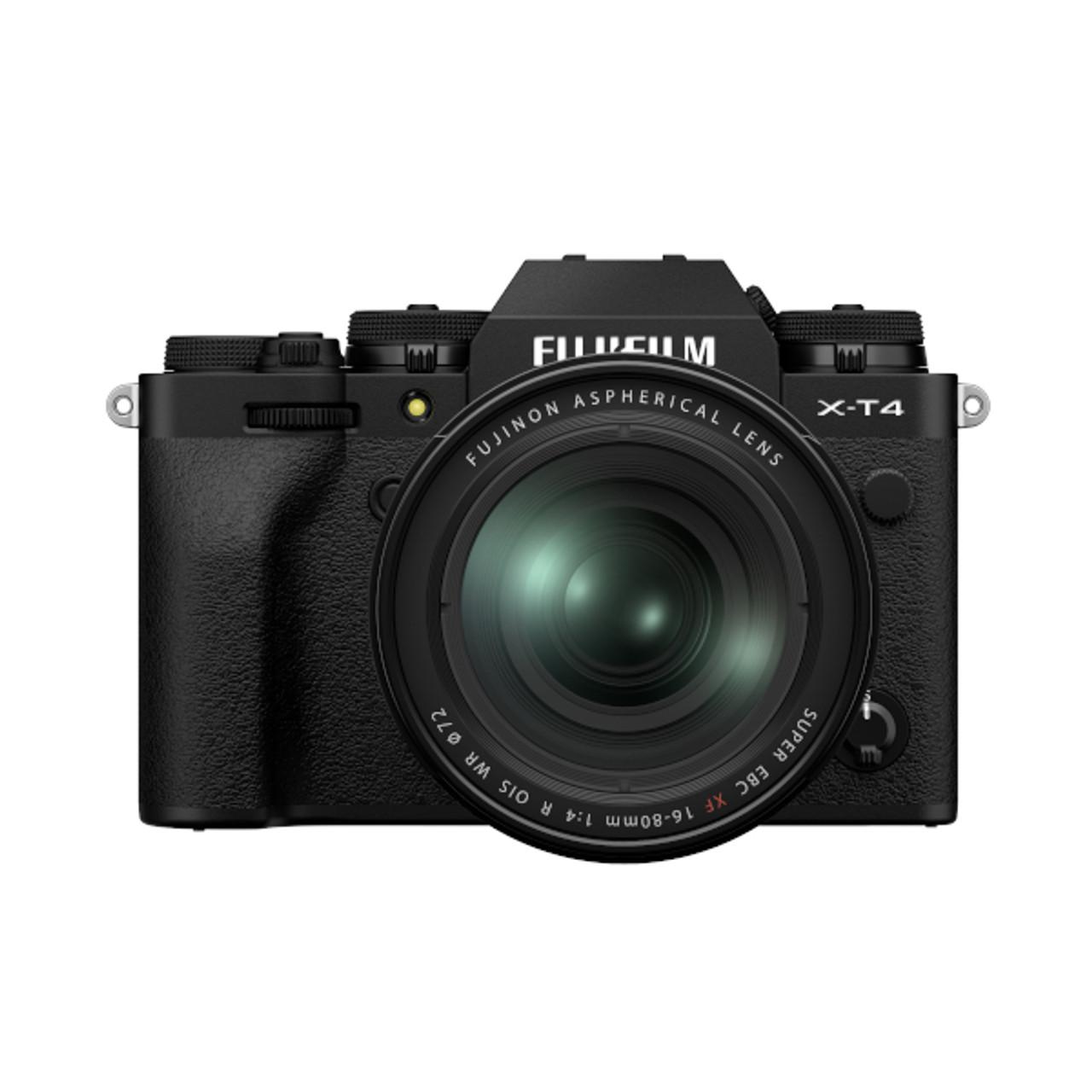Fujifilm X-T4 XF 16-80mm F4 Kit (Black)