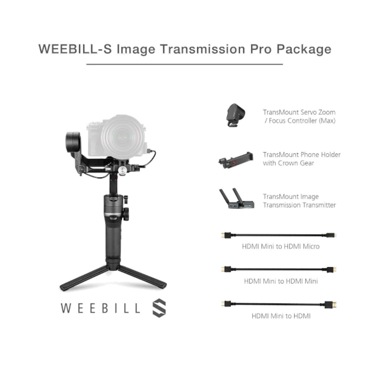 Zhiyun Weebill S Transmission Package