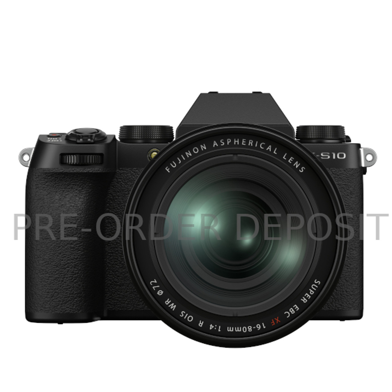 Pre-Order Deposit for Fujifilm X-S10 with XF16-80mm F4 R OIS WR
