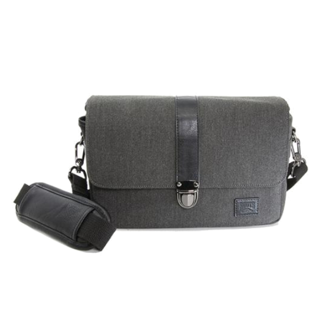 Roots Uptown Flannel Messenger Bag