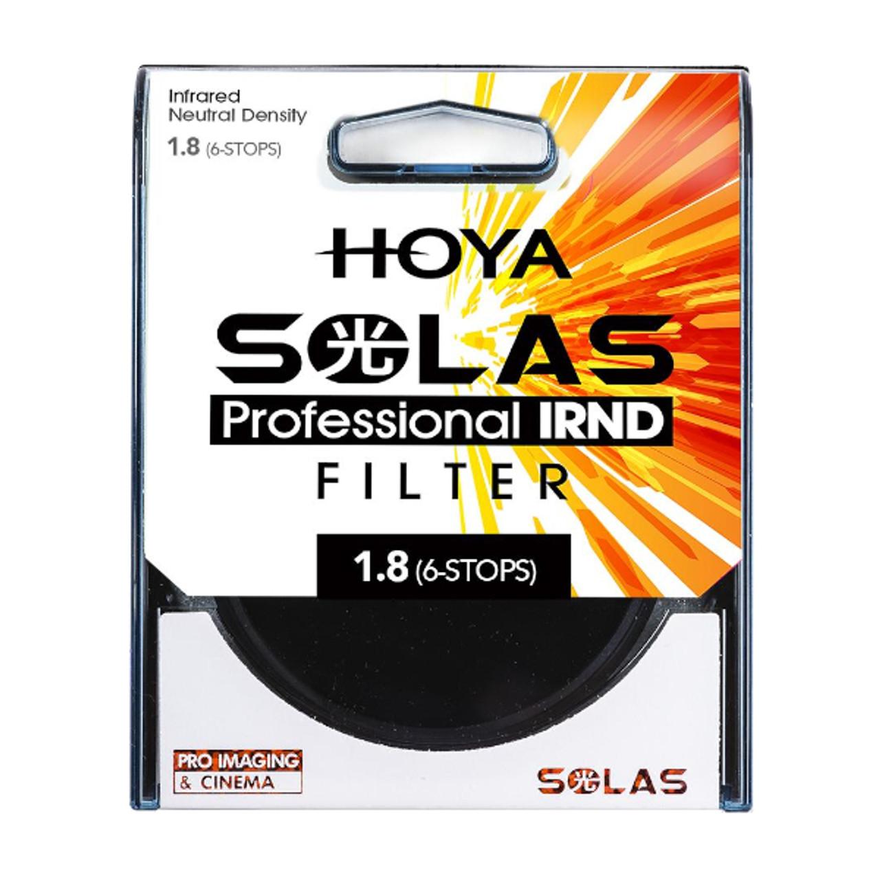 Hoya 52mm SOLAS IRND 1.8 (6-stop)
