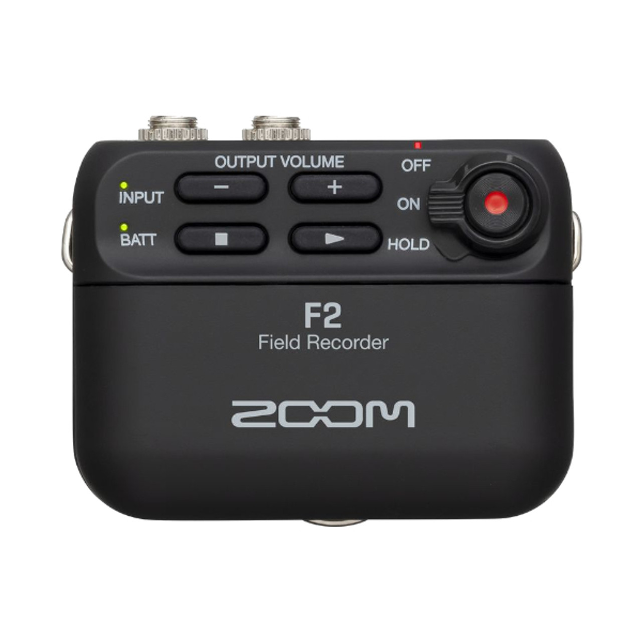 Zoom F2 Field Recorder with Lavalier Mic