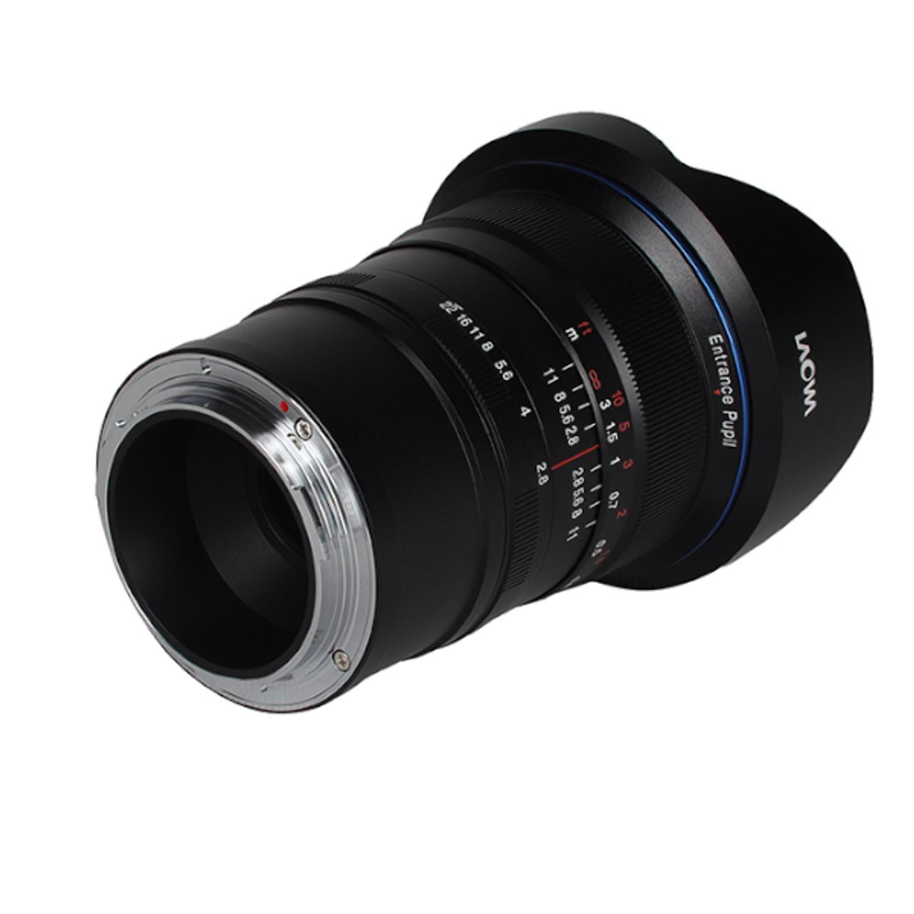 Laowa 12mm F2.8 Zero-D Leica L - Black