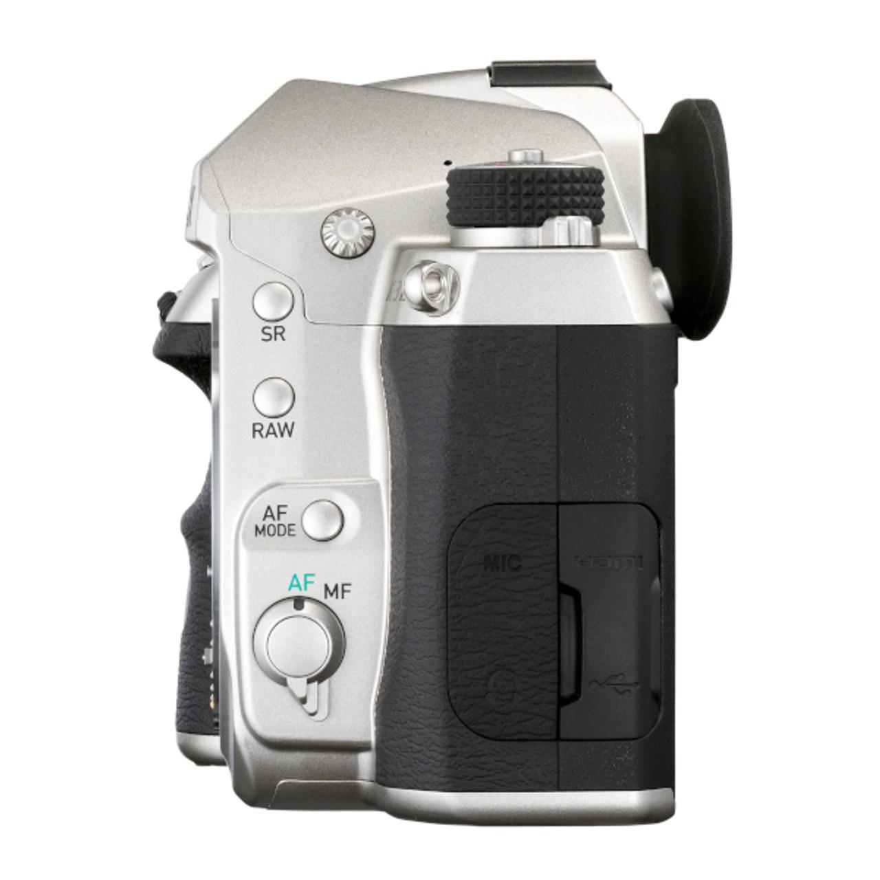 Pentax K-3 Mark III Body Only - Silver