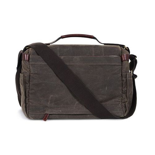 ONA Astoria Messenger Bag Dark Tan/Olive