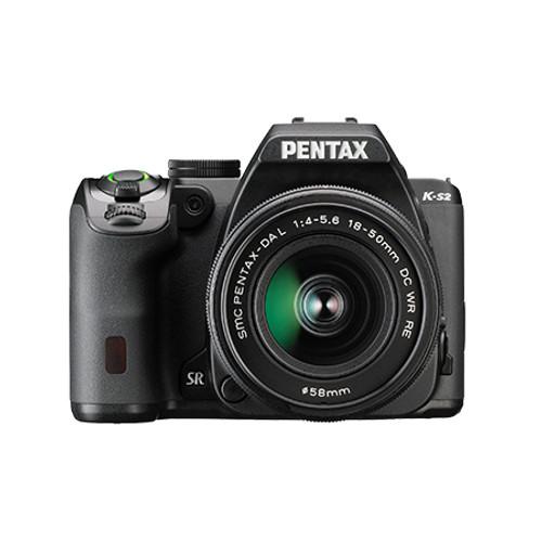 Pentax K-S2 DA L 18-50mm F4-5.6 WR Kit Black
