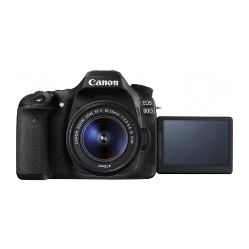 Canon EOS 80D 18-55mm F3.5-5.6 IS STM Kit