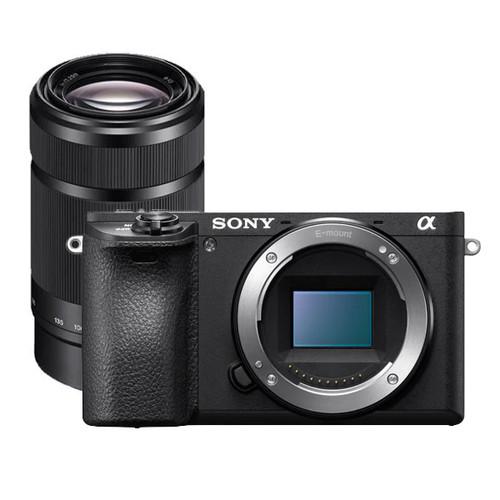 Sony A6500 Body 55-210mm Lens Kit Black