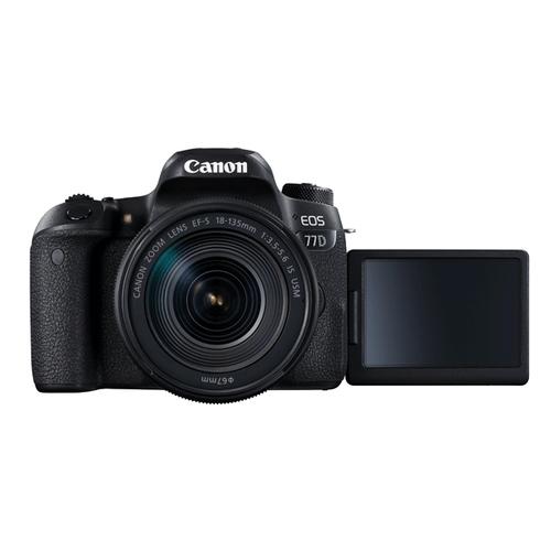 Canon EOS 77D 18-135mm & 55-250mm Bundle
