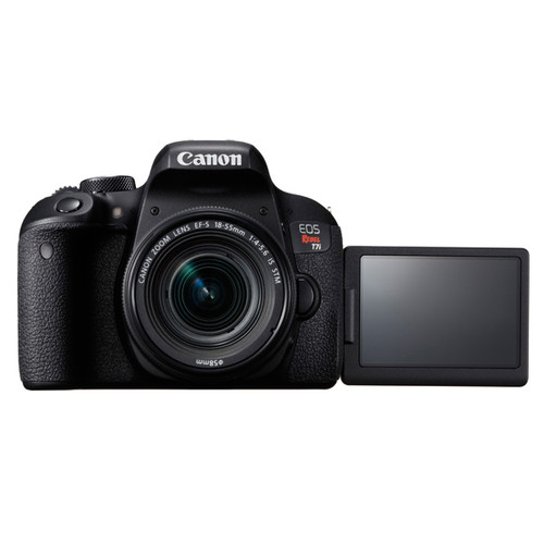 Canon EOS T7i 18-55mm IS STM Kit with 55-250mm IS STM Bundle