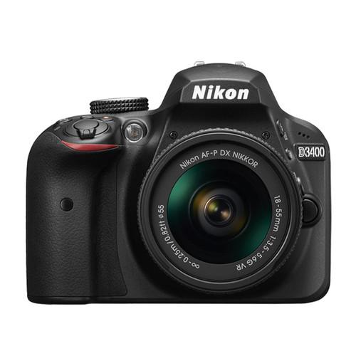 Nikon D3400 18-55mm F3.5-5.6G VR Kit + Nikon DX Accessory Kit