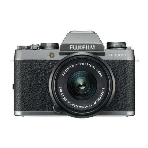 Fujifilm X-T100 Kit Dark Silver (XC15-45mmF3.5-5.6 PZ)