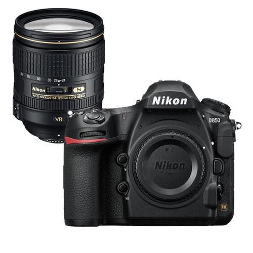 Nikon D850 Body w/ AF-S 24-120mm F4G Lens