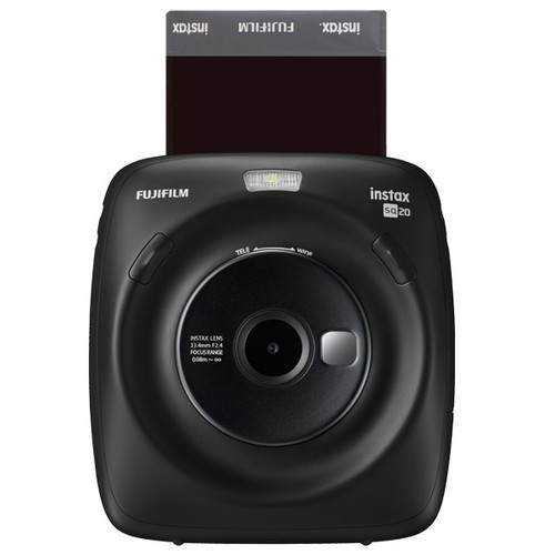 Fujifilm Instax SQUARE SQ20 – Matte Black