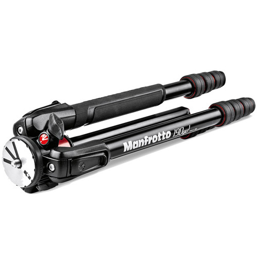 Manfrotto 190 GO! M-Series Aluminum Tripod 4-Section M-Lock