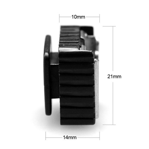 """SmallRig Cold Shoe with 1/4"""" Threaded Hole (2 pcs) 772"""