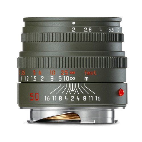 Leica Summicron-M 50 mm f/2 Safari Edition