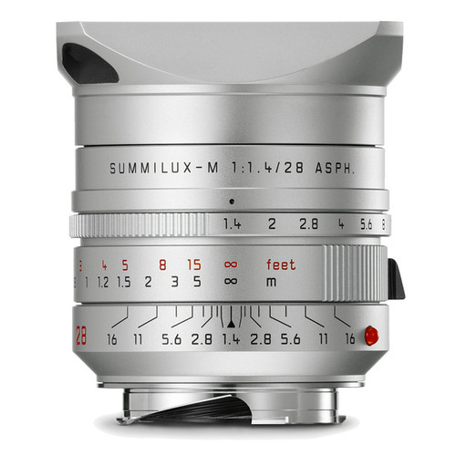 Leica Summilux-M 28 mm f/1.4 ASPH (silver anodized finish)