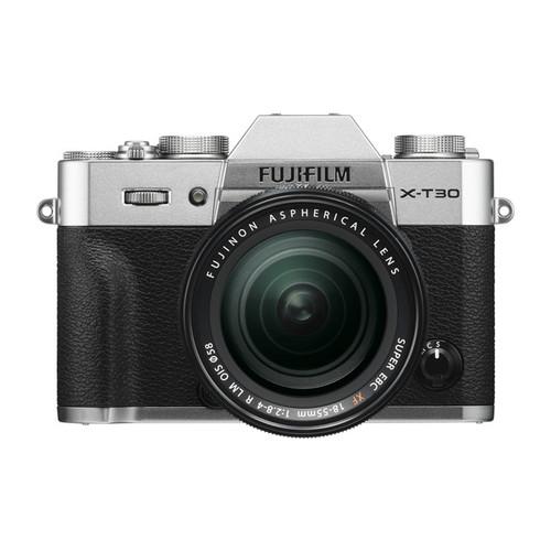 Fujifilm X-T30 18-55mm F2.8-4 R LM OIS Kit Silver