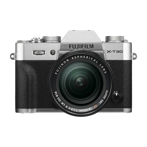Fujifilm X-T30 18-55mm F2.8-4 R LM OIS Kit Silver Pre-Order