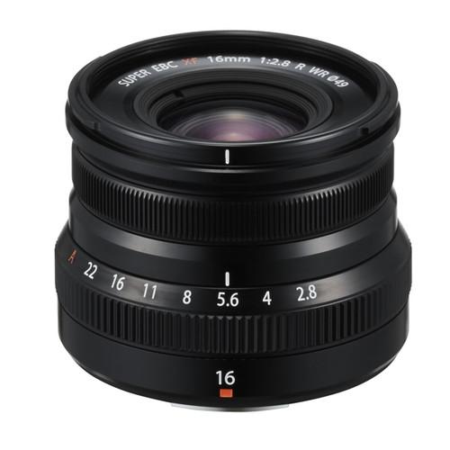 Fujifilm Fujinon XF 16mm F2.8 R WR Black