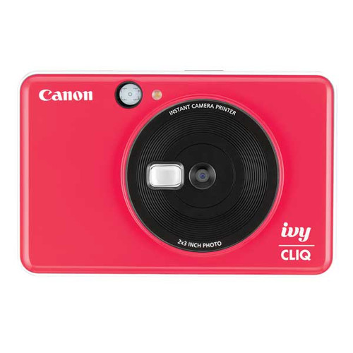 Canon Ivy Cliq Instant Camera (Ladybug Red)